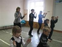 Посвящение учащихся 1 класса в организацию «Чудоград»._4