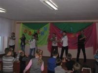 Посвящение учащихся 1 класса в организацию «Чудоград»._7