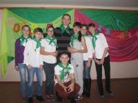 Посвящение учащихся 1 класса в организацию «Чудоград»._9